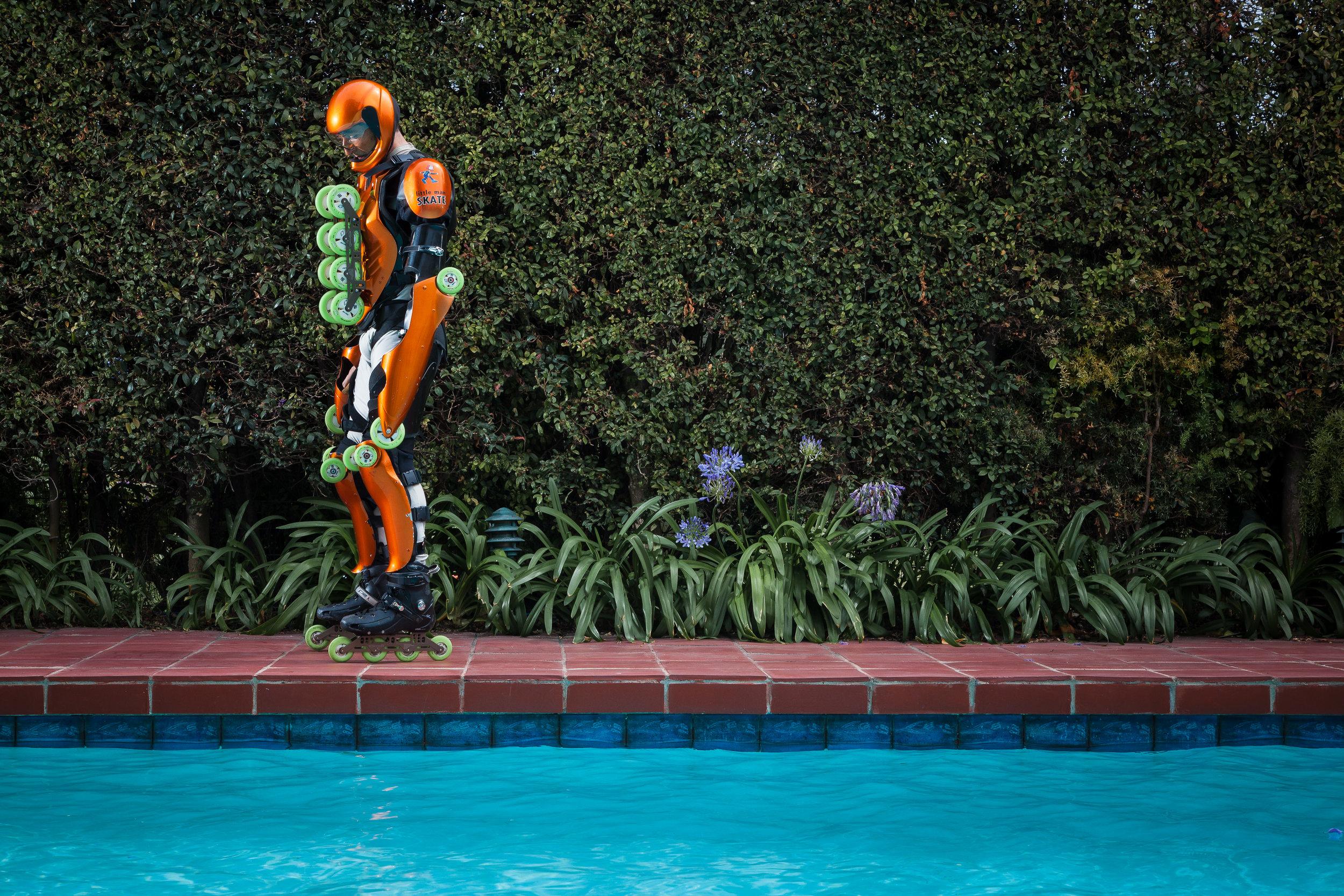 Jean Yves Blondeau, Rollerman by Nick Koudis