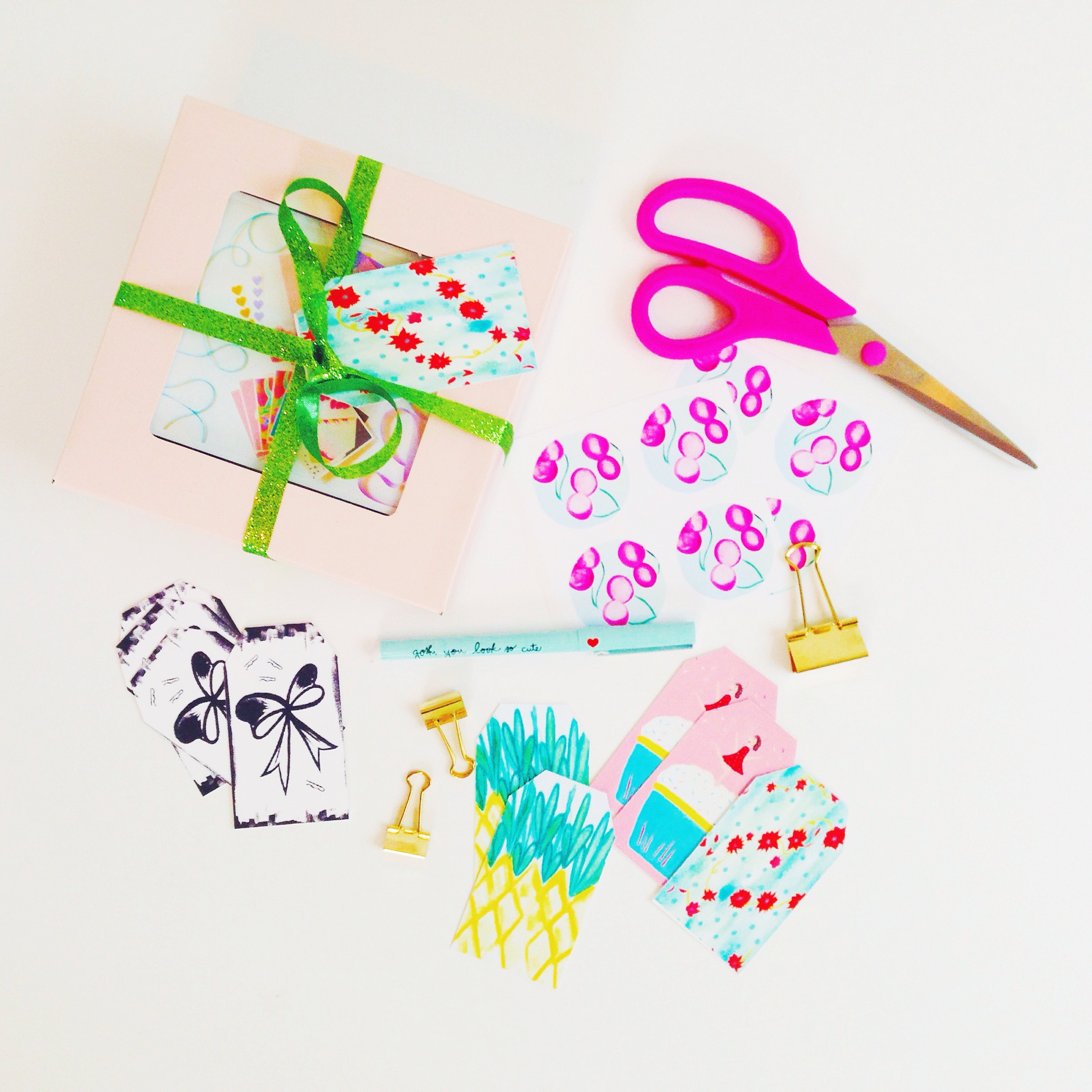 Gift Tags and Stickers