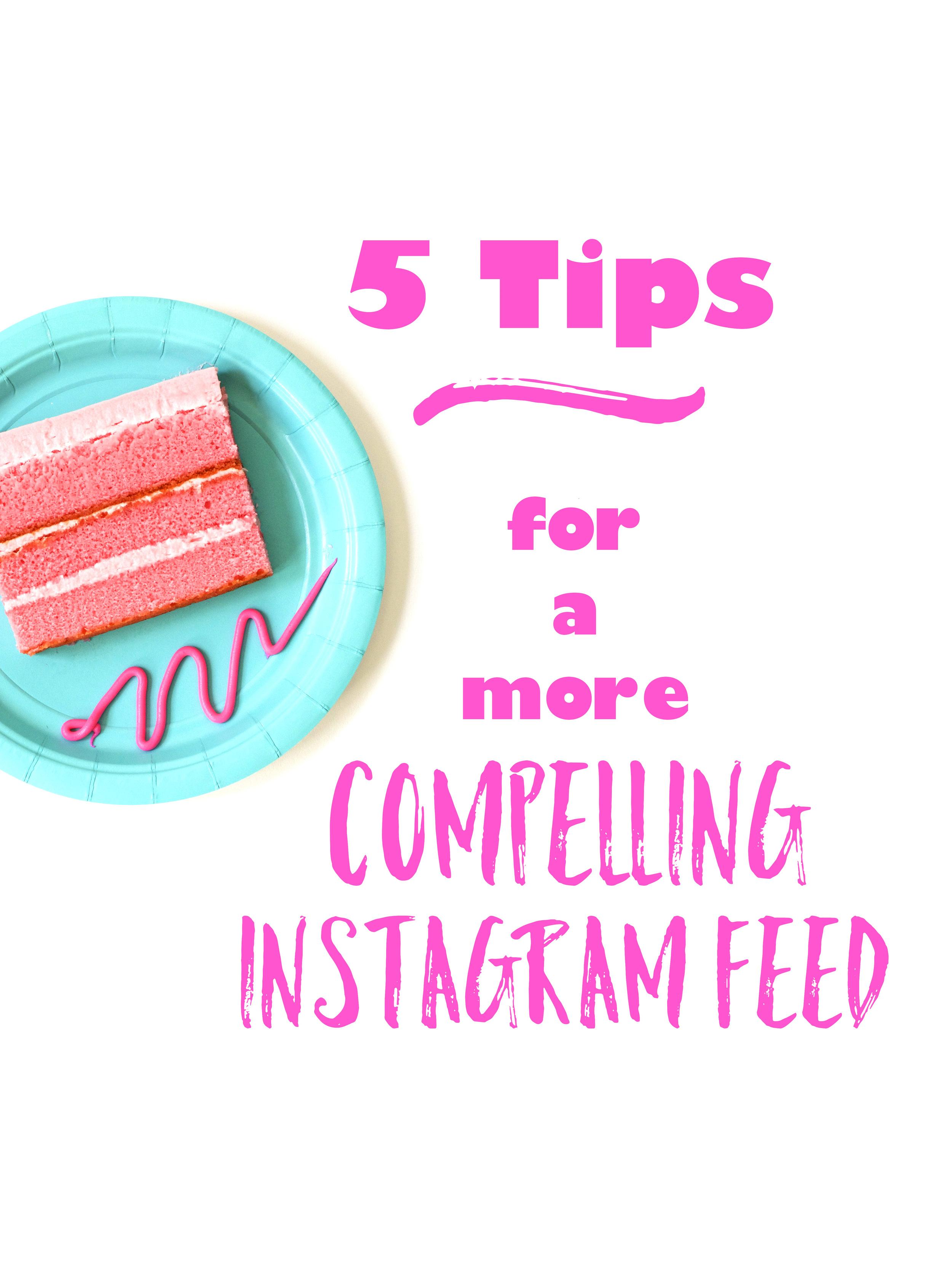Violet Tinder Studios 5 Tips for a more compelling IG feed