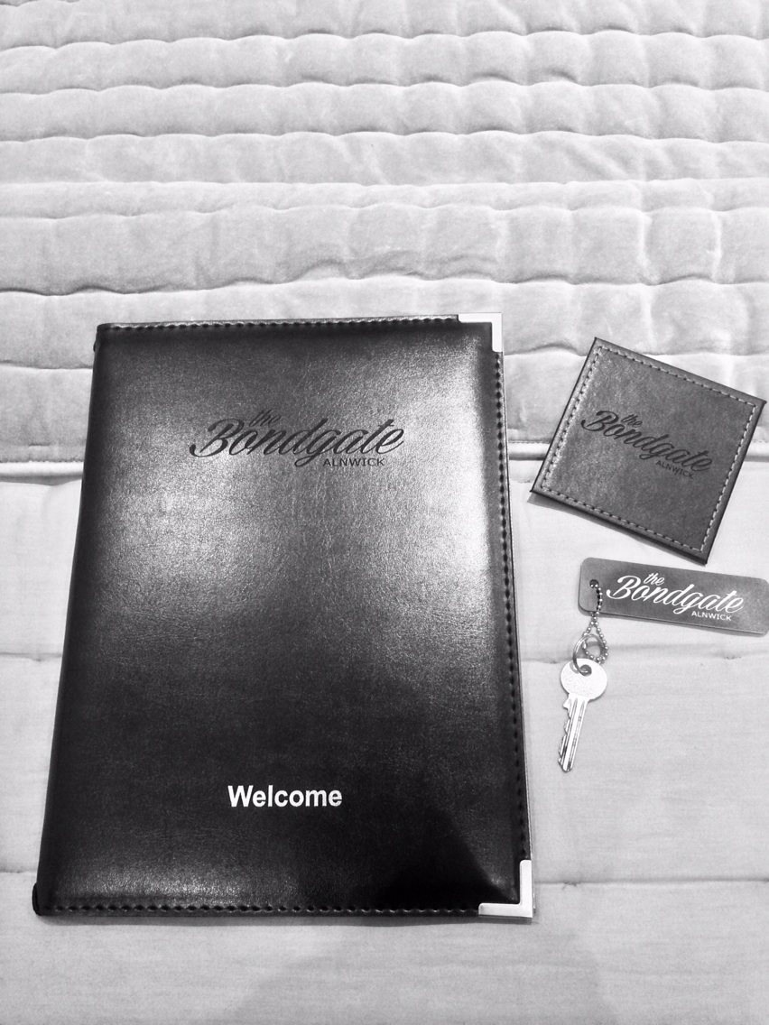 Custom Coaster, keychain & Welcome Book