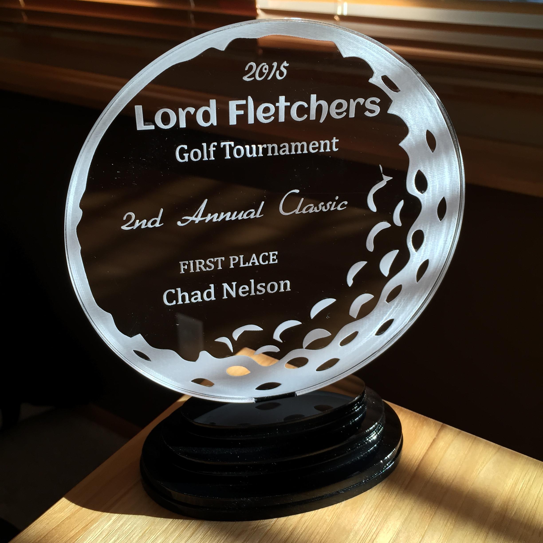 Acrylic award
