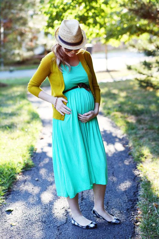 teal maternity dress.jpg