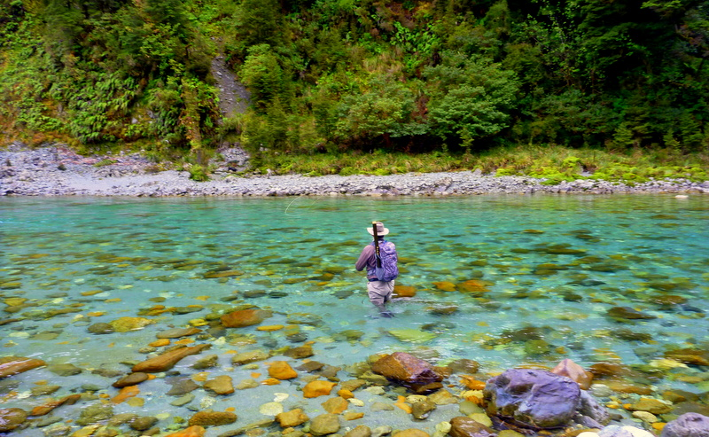 Fly Fishing Queenstown with Professional guide Paul Macandrew