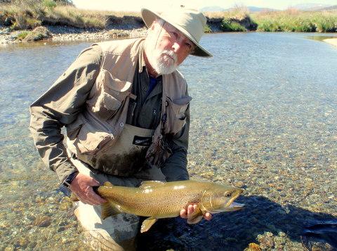 New Zealand trout fishing Guide Paul Macandrew