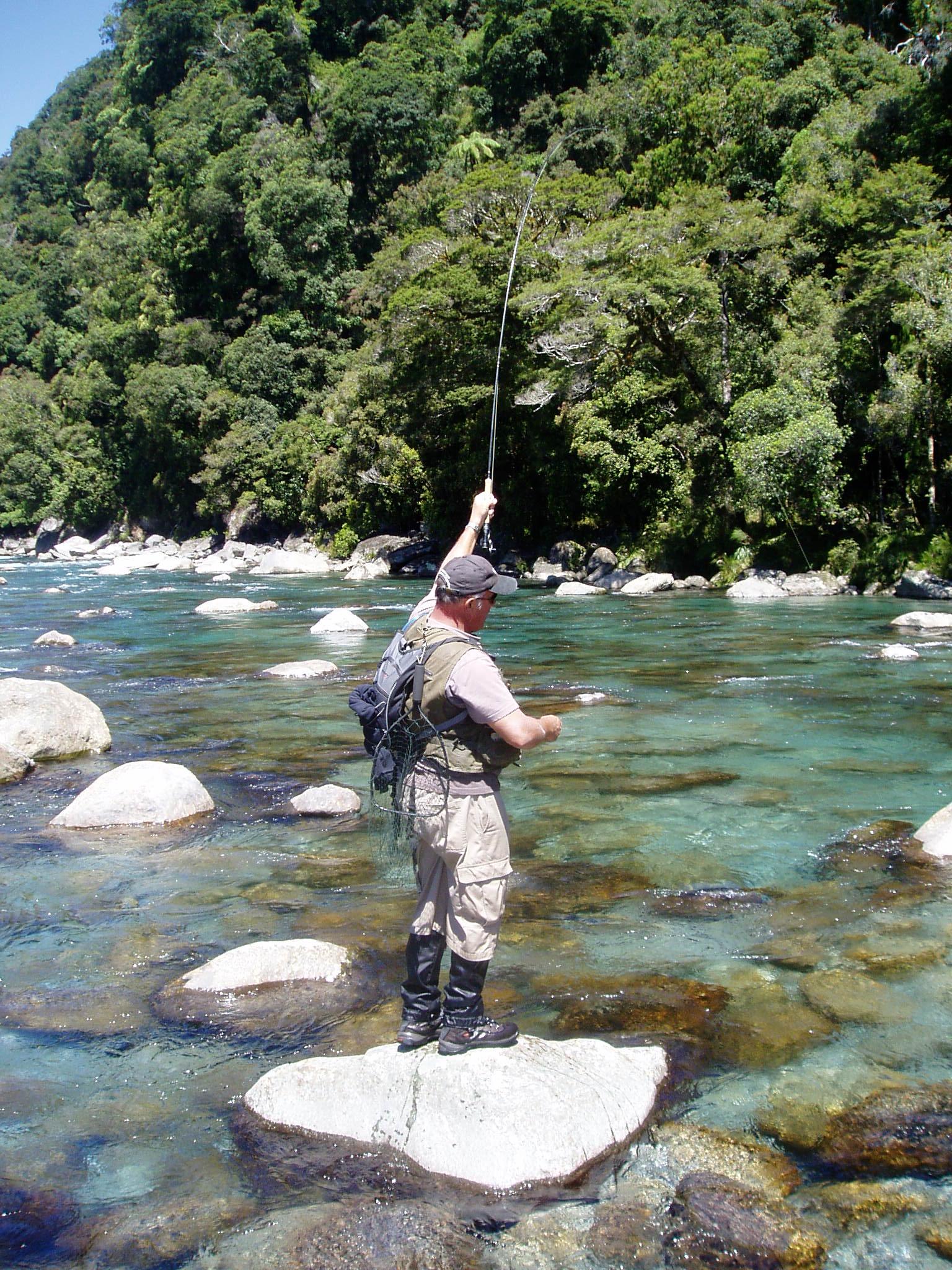 Fly fishing New Zealand adventures