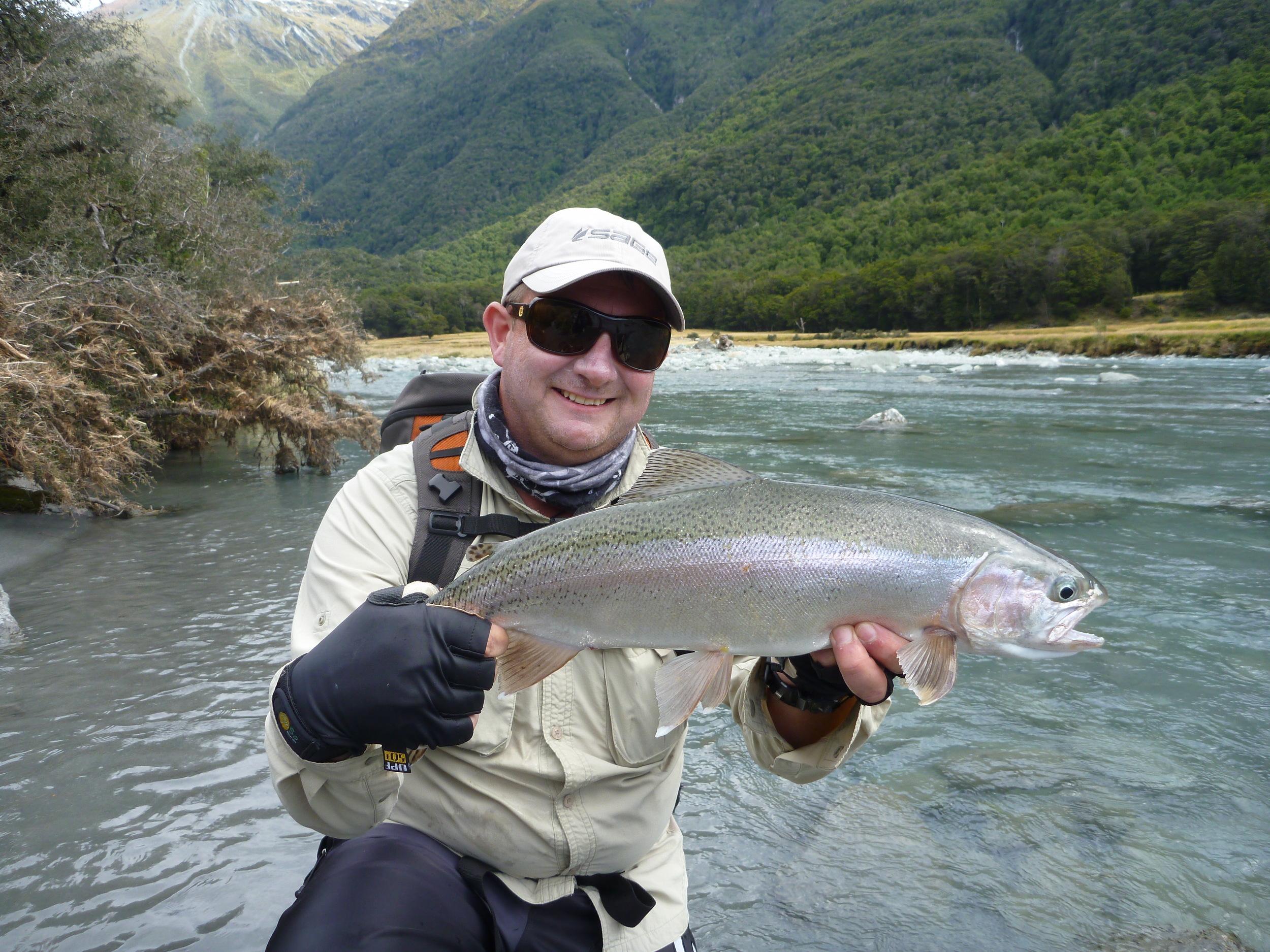 Wanaka South Island of New Zealanddry fly fishing