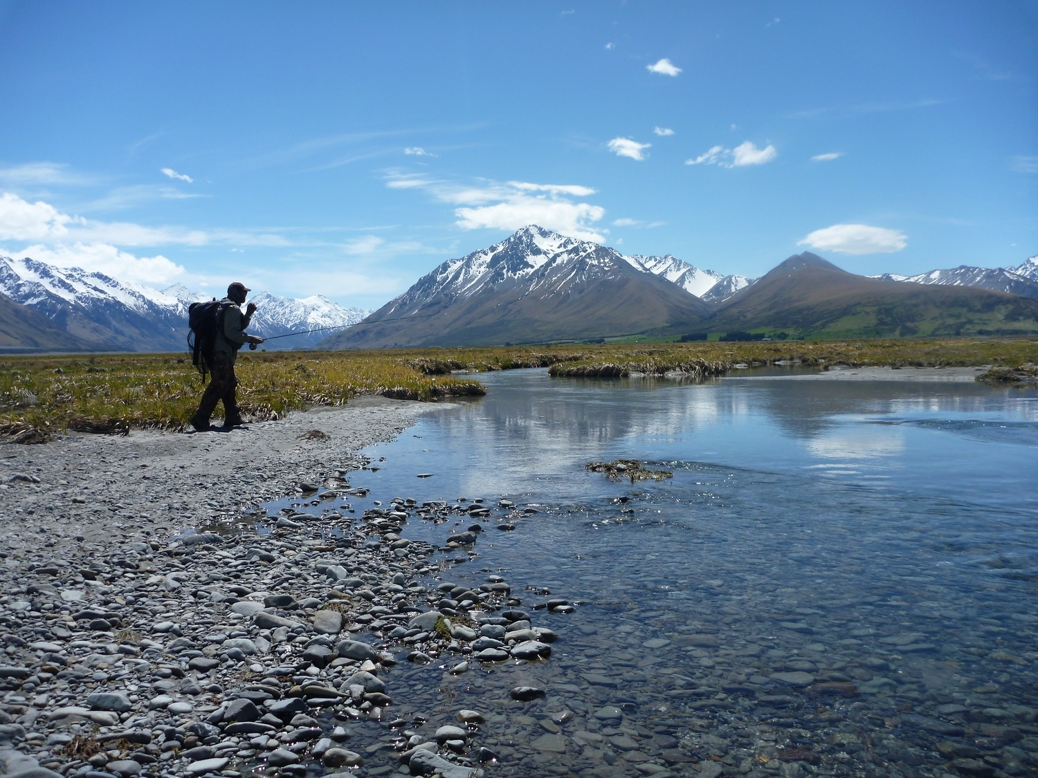 New Zealand Fly Fishing in the Mackenzie Country