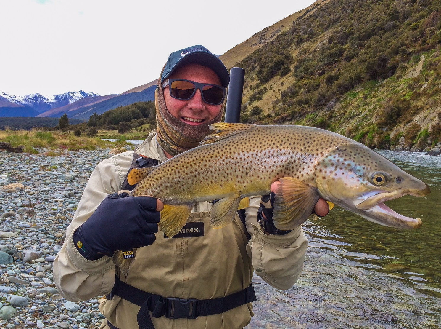 Trophy Southland brown trout