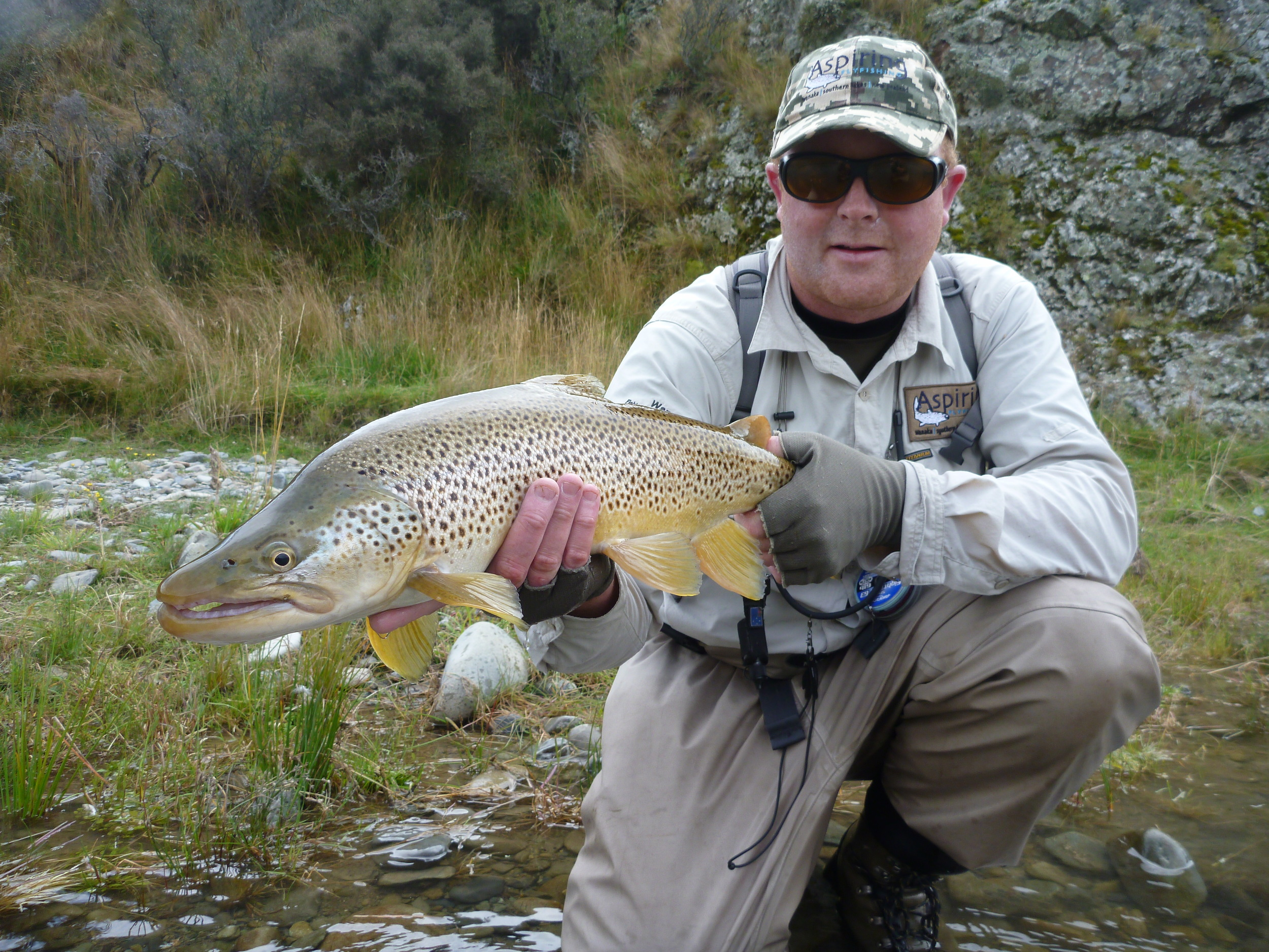 Fly Fishing Queenstown for trophy trout.