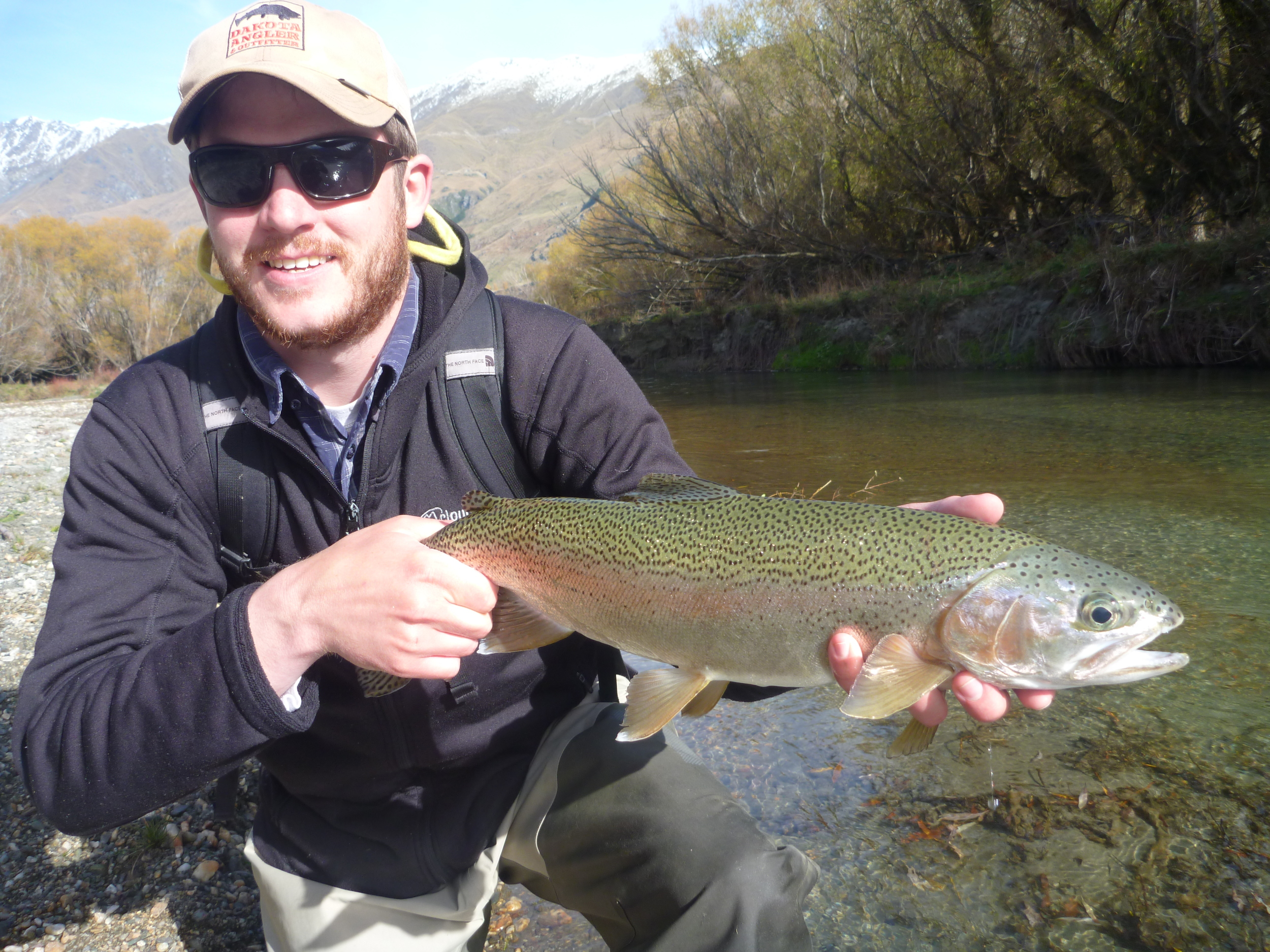Mckenzie Country Fly Fishing for Rainbow trout