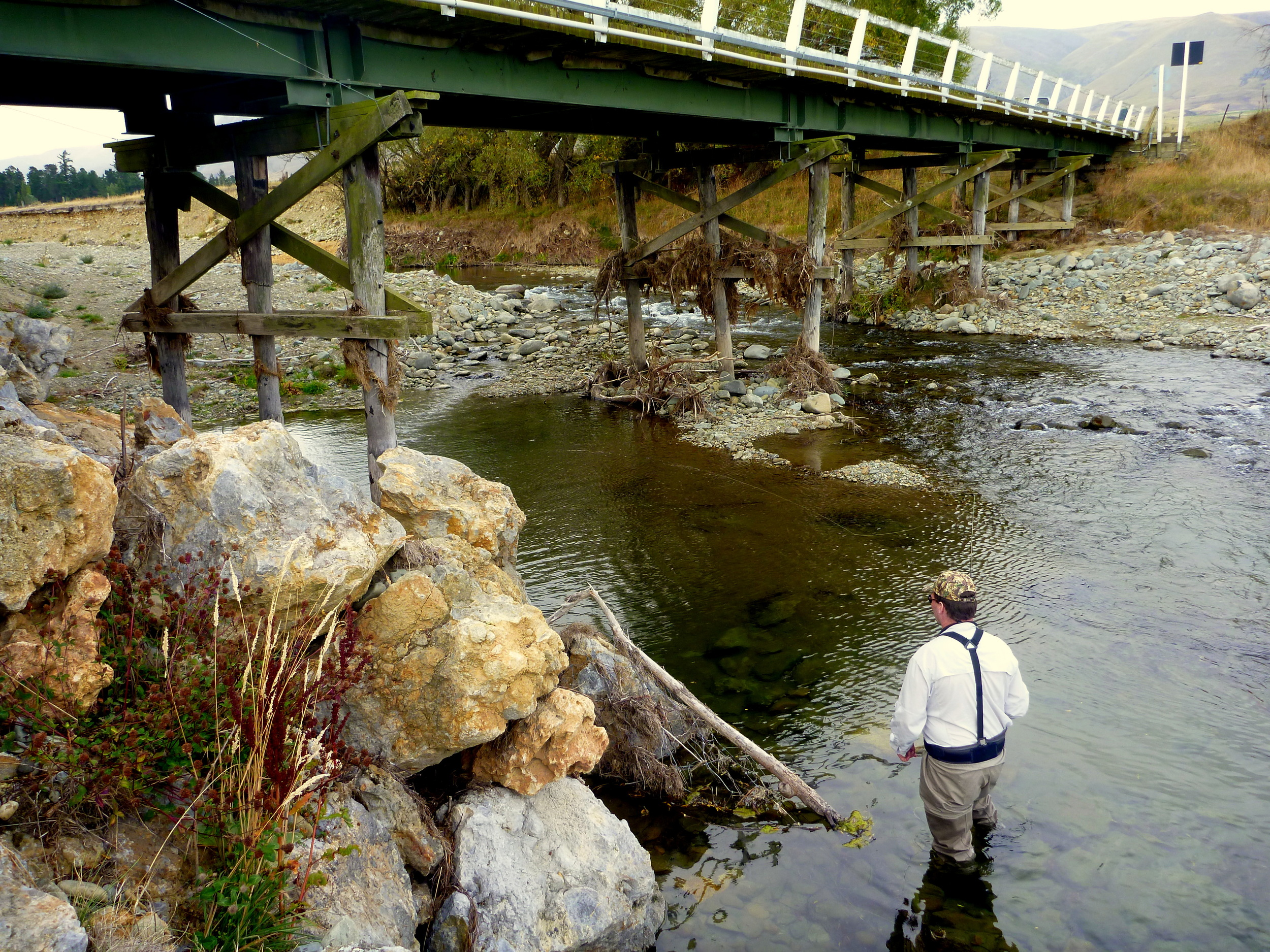 Autumn fly fishing in New Zealand