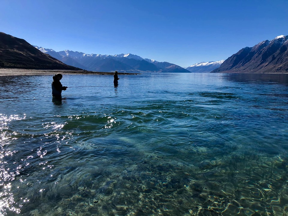 Stunner of a day on Lake Hawea today