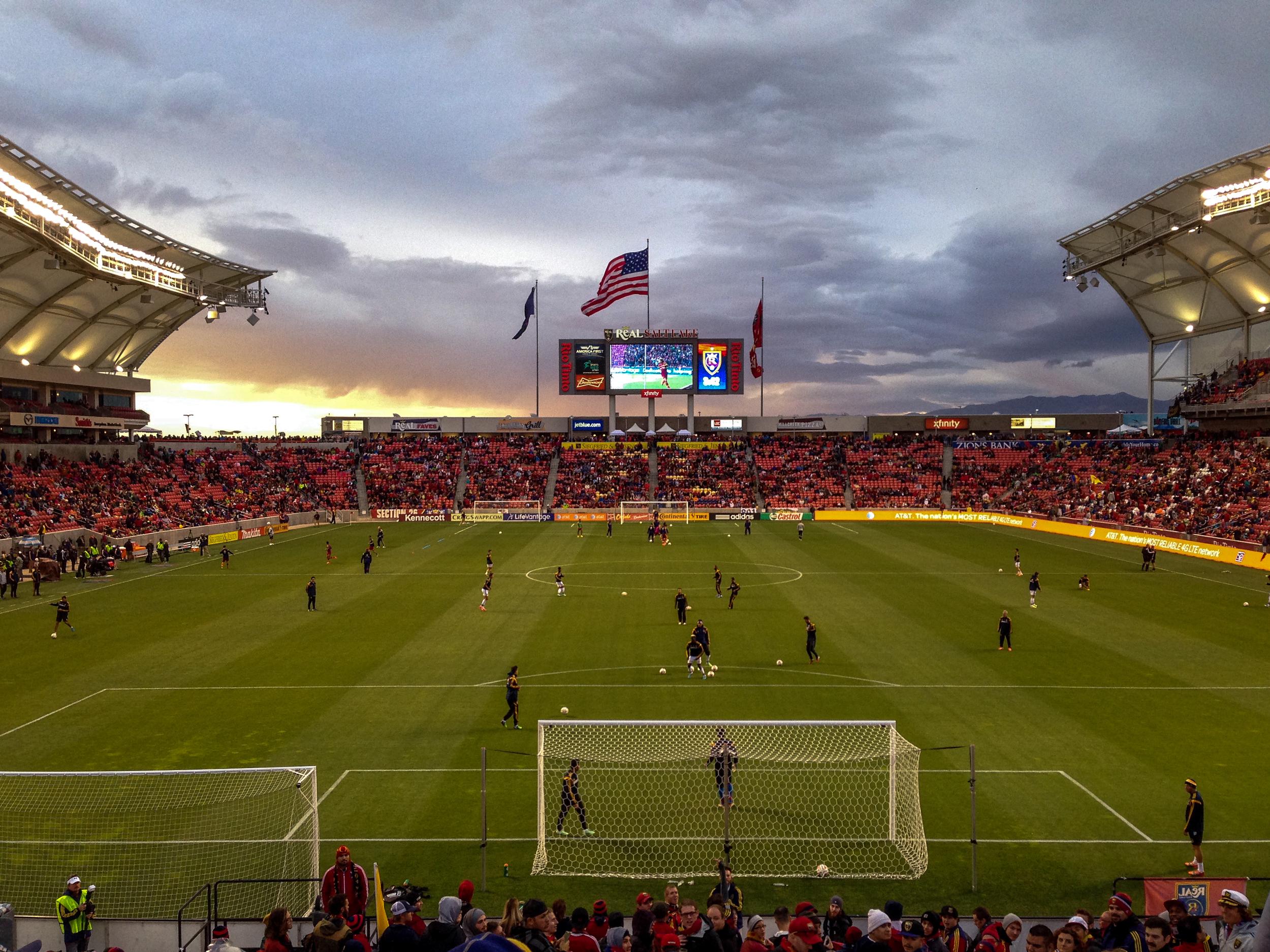 Real Salt Lake v. LA Galaxy / First leg, 0-0