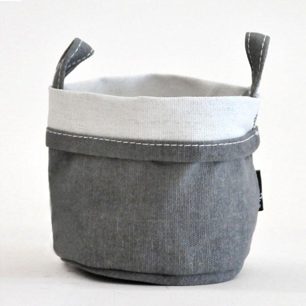 Maika Goods Waxed Ash Recycled Canvas Bucket