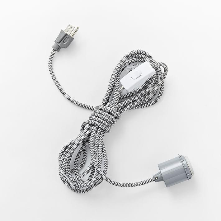 Hanging bulb cord