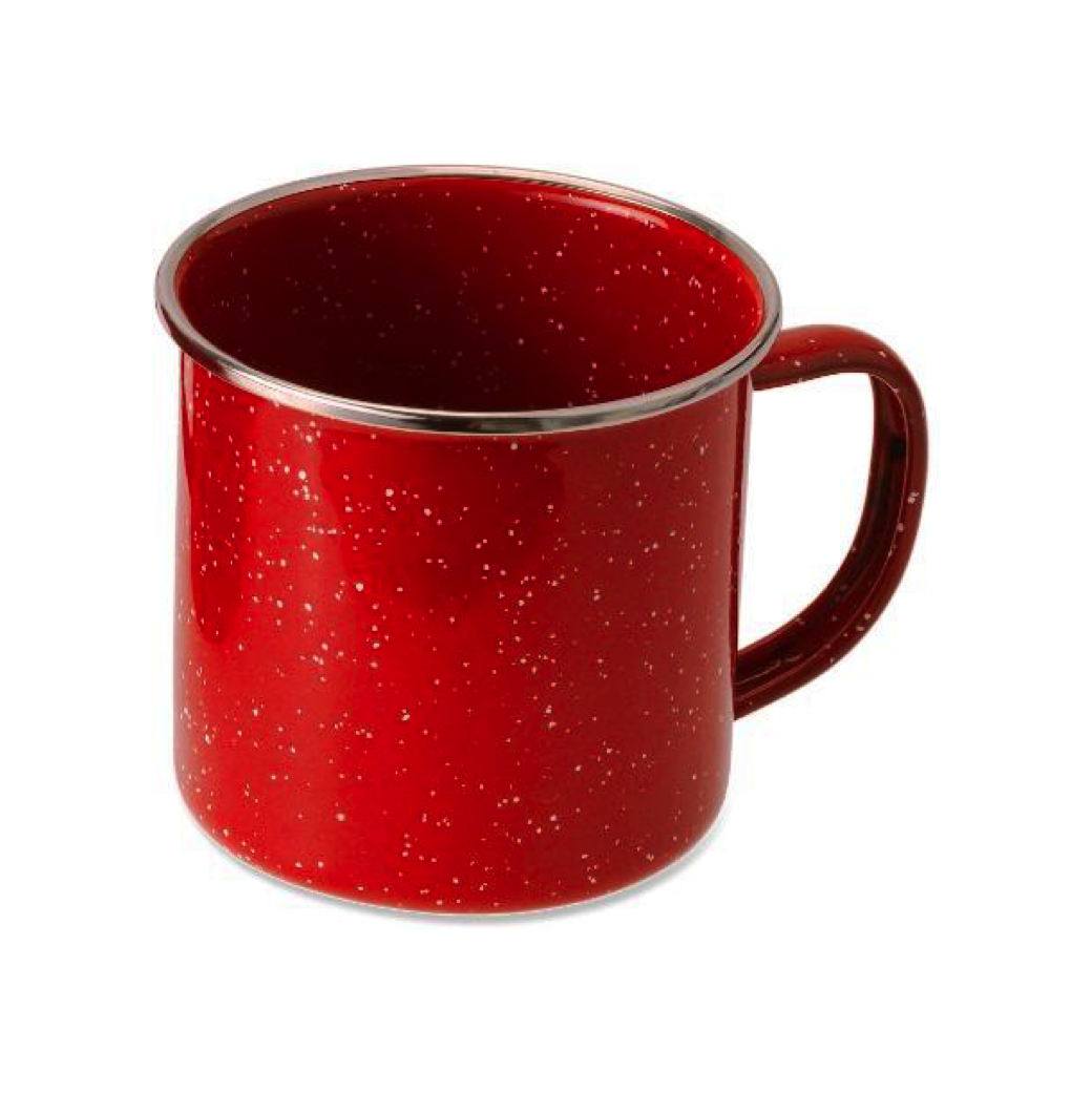 My  little enamel mug