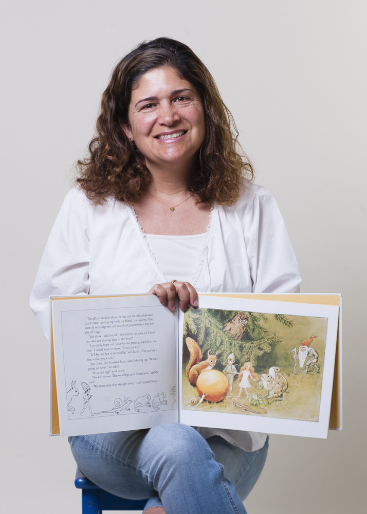Jana, Librarian, San Anselmo
