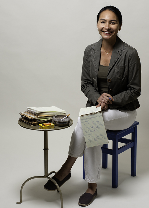 Janine, Journalist, Tiburon