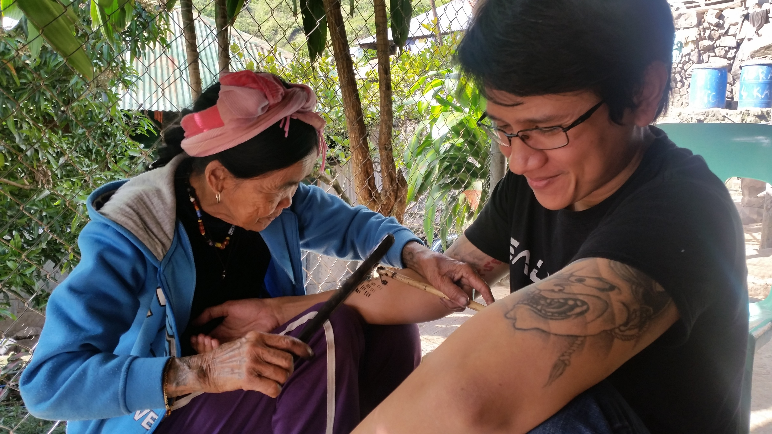 My boyfriend also getting a tattoo from Fang Od