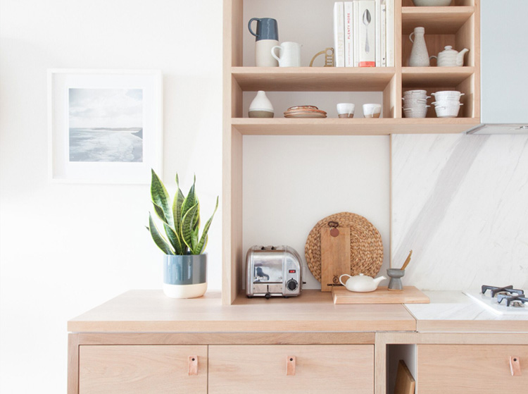 ROUSE ST APARTMENT  Personalising JOINERY + STORAGE PLUS PLANTSCAPING