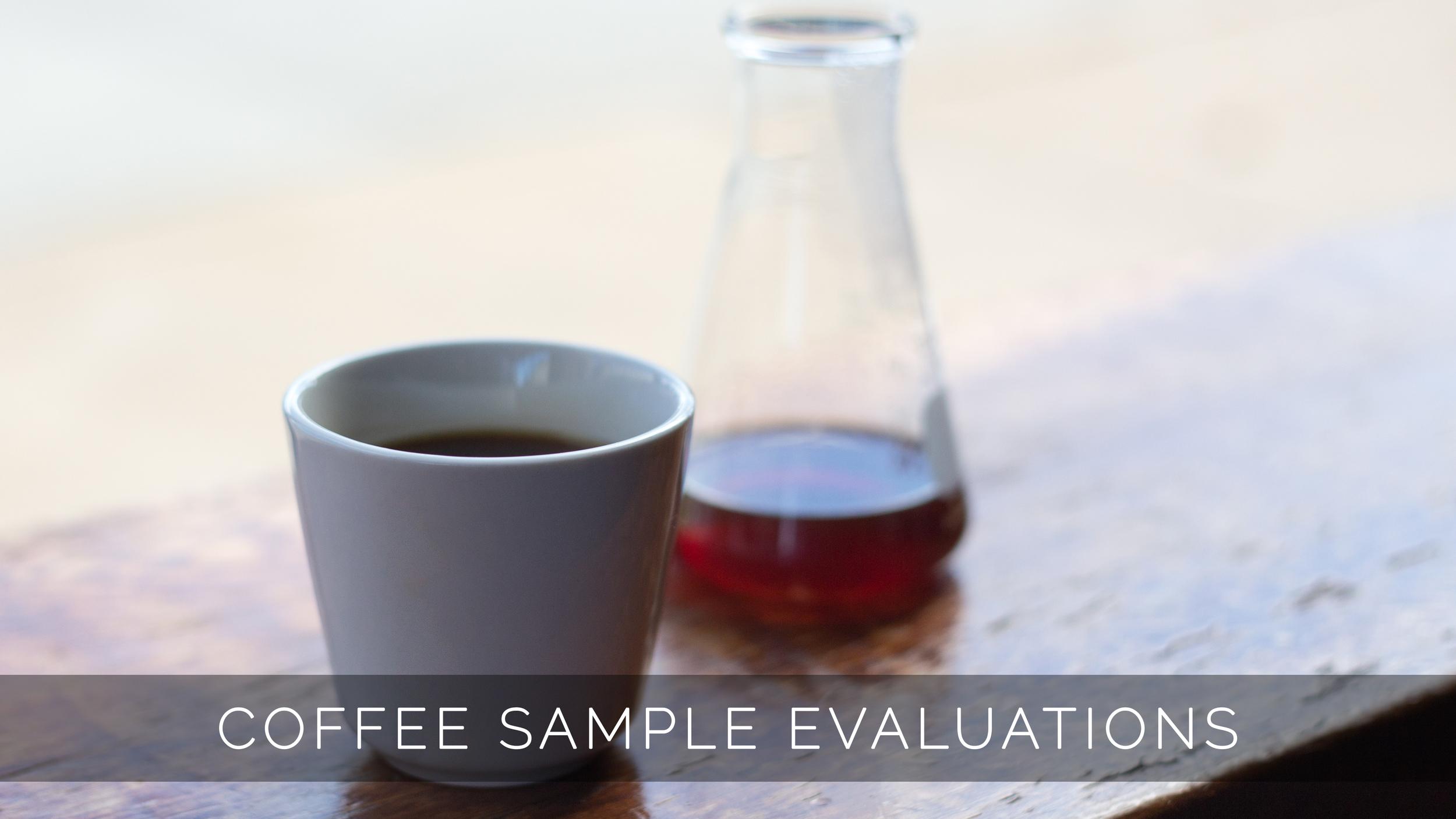 Coffee Sample Evaluation