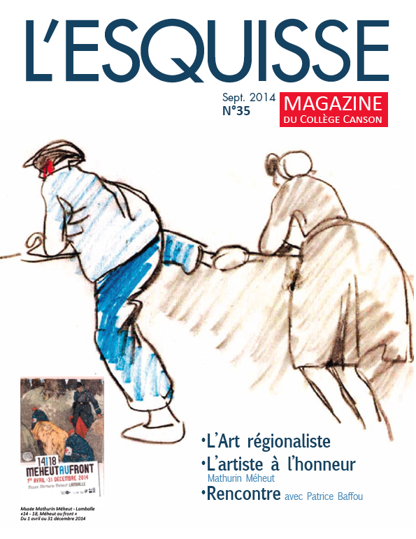 Couverture du magazine L'Esquisse de Canson