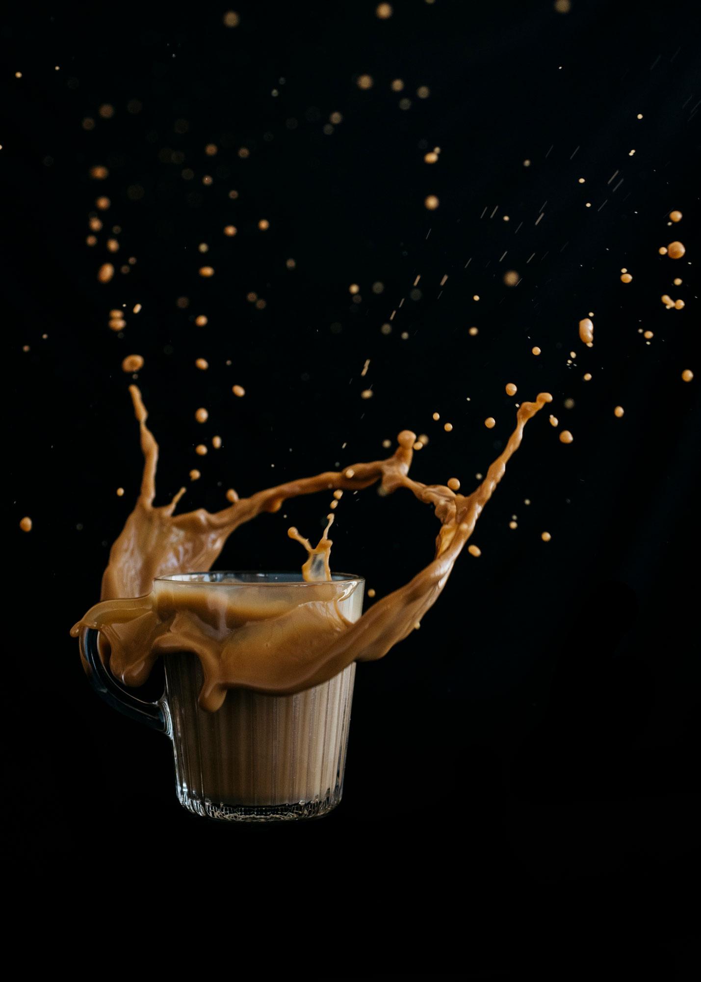 Starbucks Coffee Splash