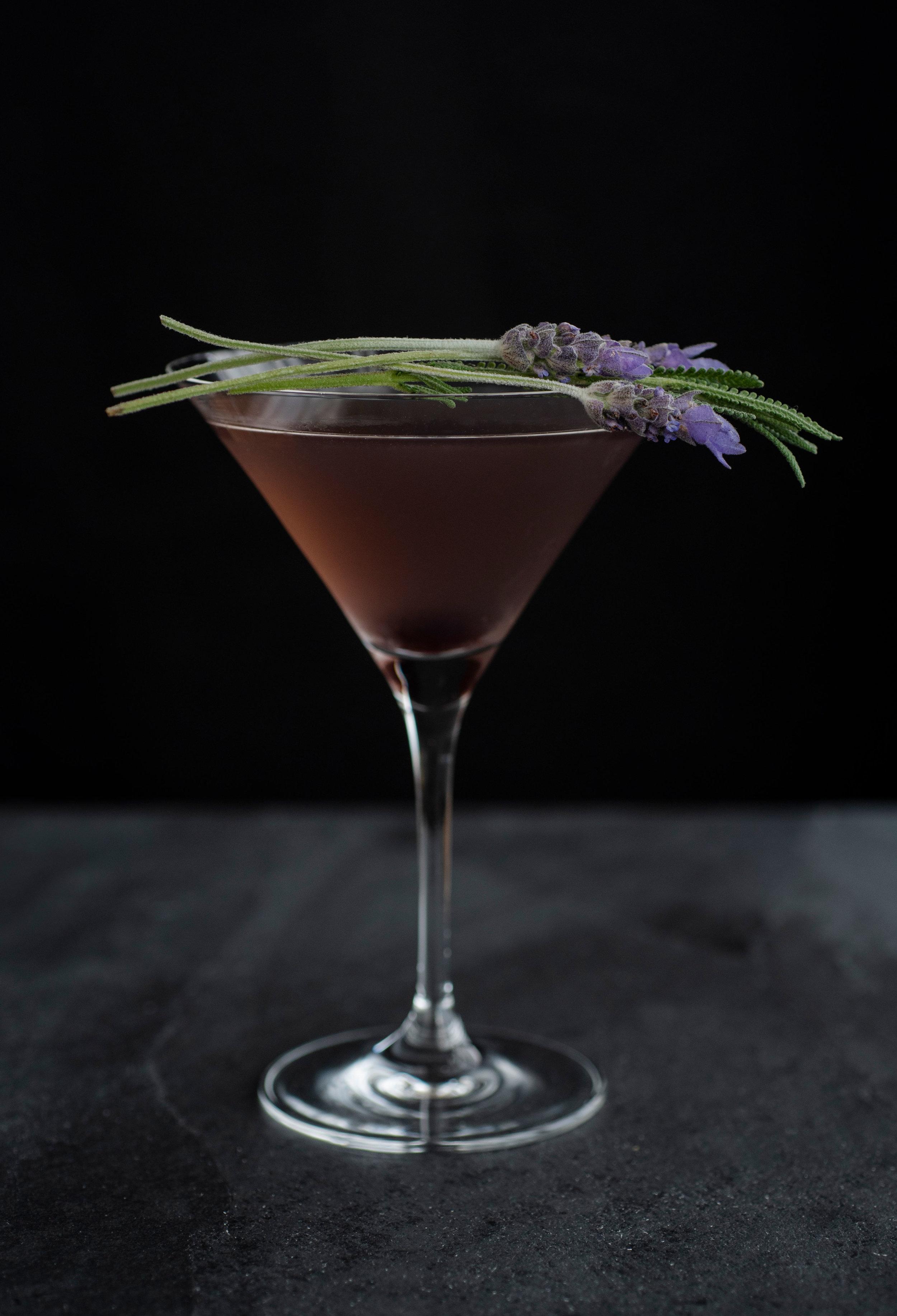 Creme de Violette Cocktail