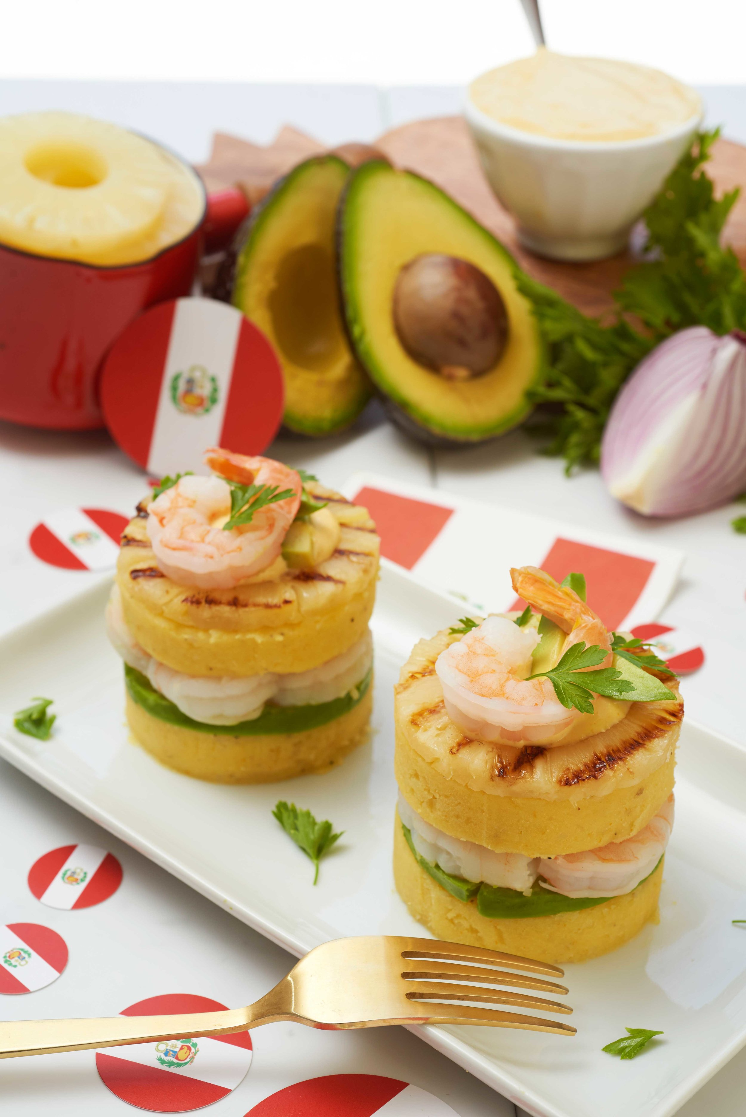 Shrimp Causa