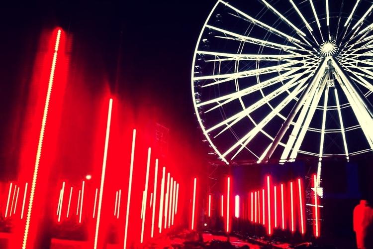 <b>Romain Tardy // MGNTRN</b><br>Ferris wheel light and LED control system