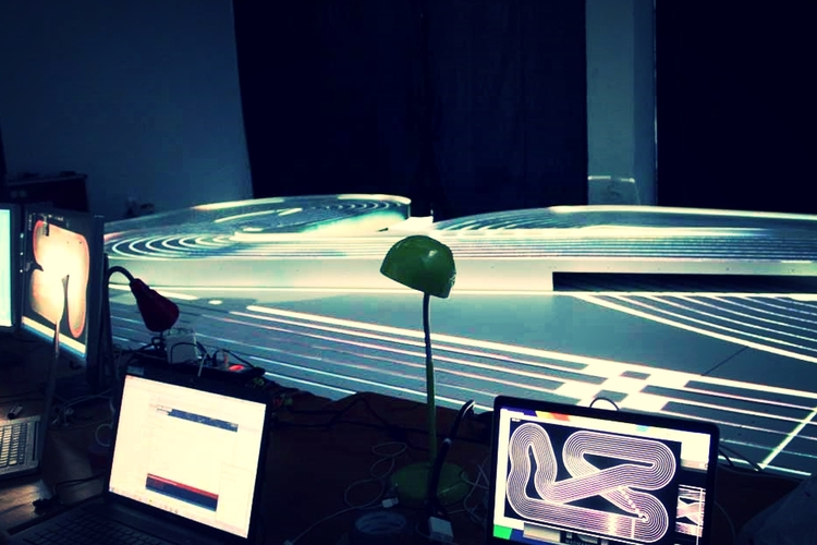 <b>Antiloop // Audi Mind Race</b><br>FCB Barcelona mind-controlled cars
