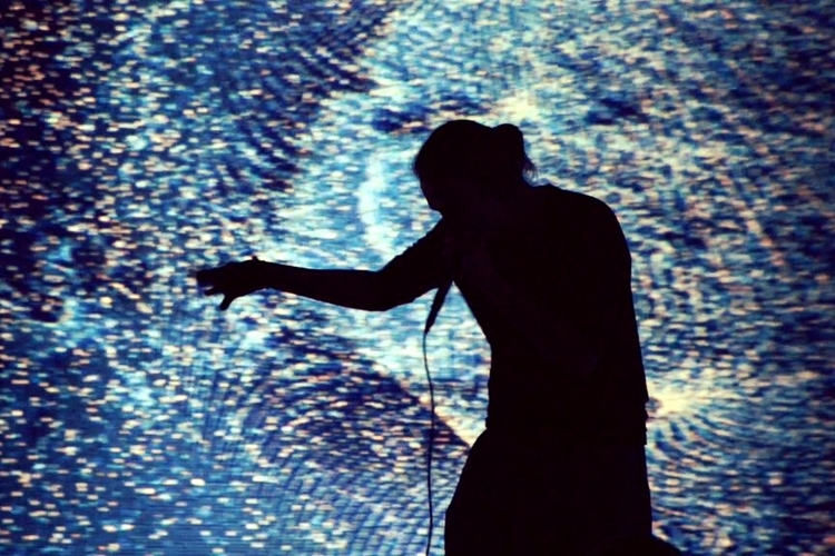 <b>Maotik, Ezra & Hand Coded // EKO</b><br>Audio and visual immersive live performance environment