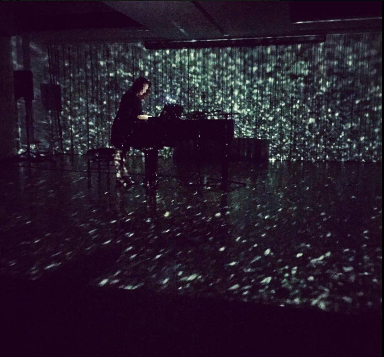 Trajectories by Sigurður Guðjónsson and Anna Thorvaldsdottir, performer Tinna Þorsteinsdóttir in Spring Workshop Hong Kong 2017