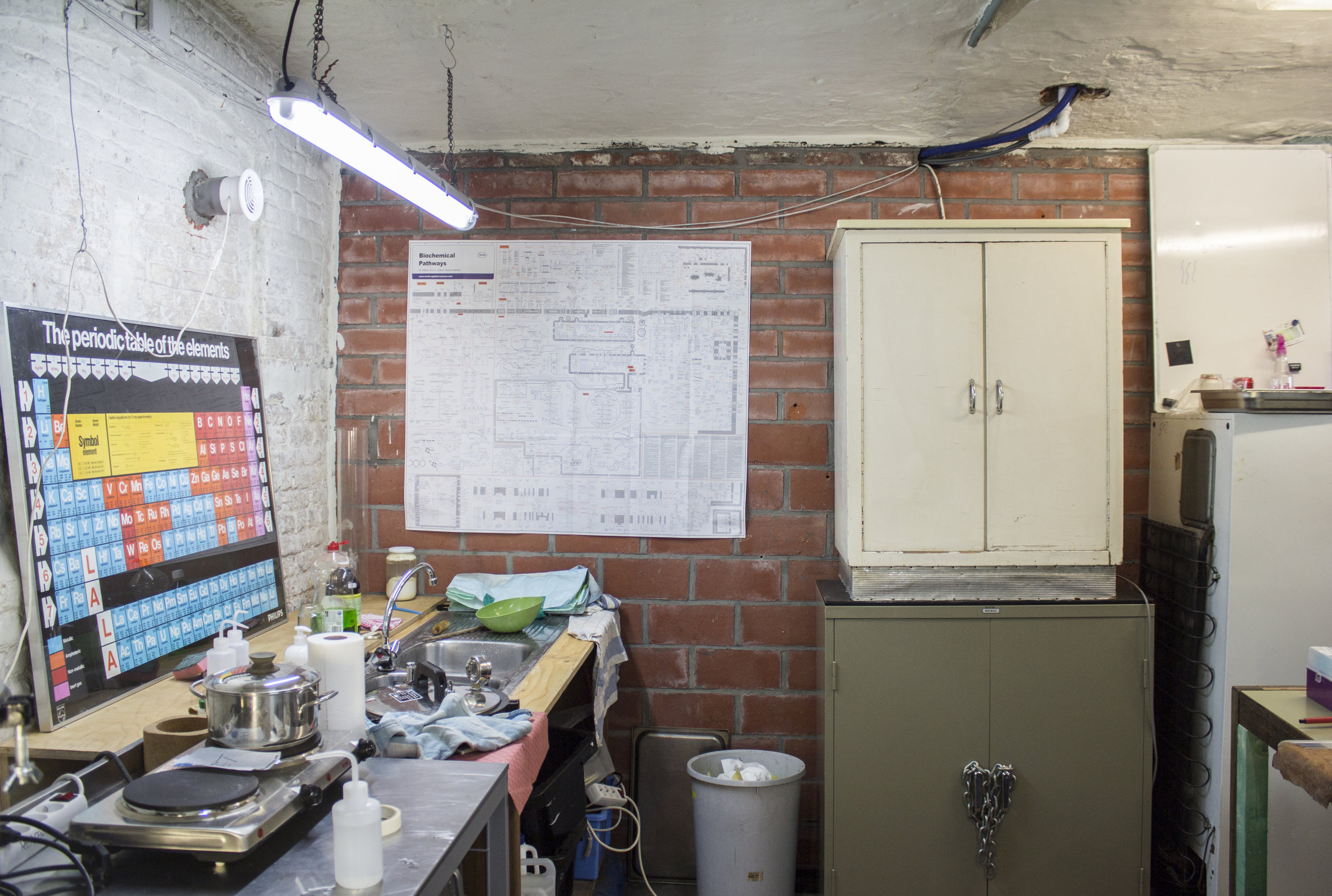 Where it all began, the ReaGent open biolab. Photo: Kim Verhaeghe.