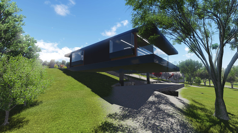 Banks House Project, Orford, Tasmania