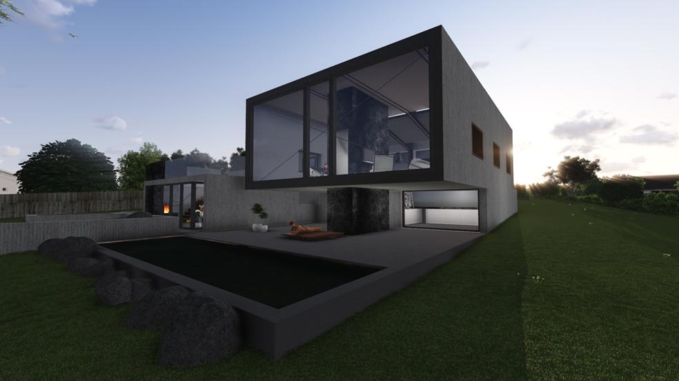 Thurstans House Residential Project, Sandford, Greater Hobart, Tasmania. Architect Designed Home