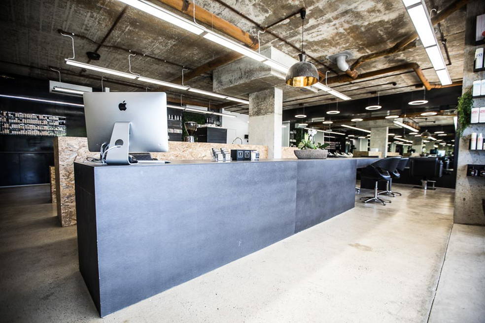 Snip Into hair and beauty salon_Sydney_FORMplay Architecture Interior Design_Greeting Reception Desk_Monolithic Joinery.jpg
