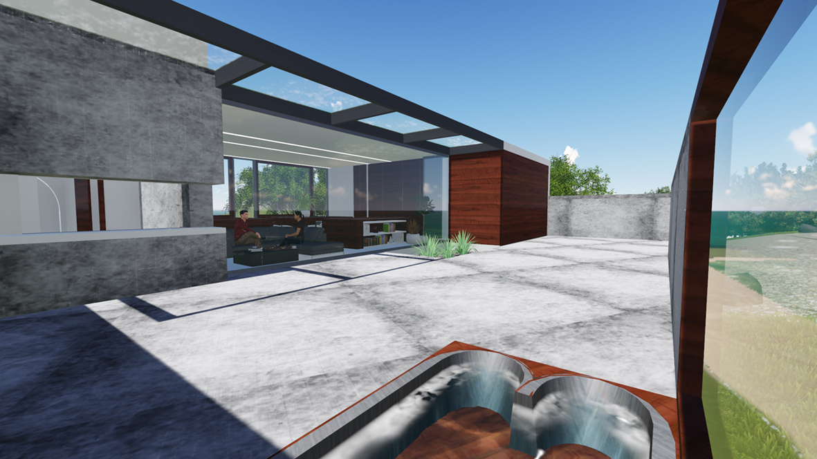 Rheban House_FORMplay Architecture_Deck Area Through Building at Spa.jpg