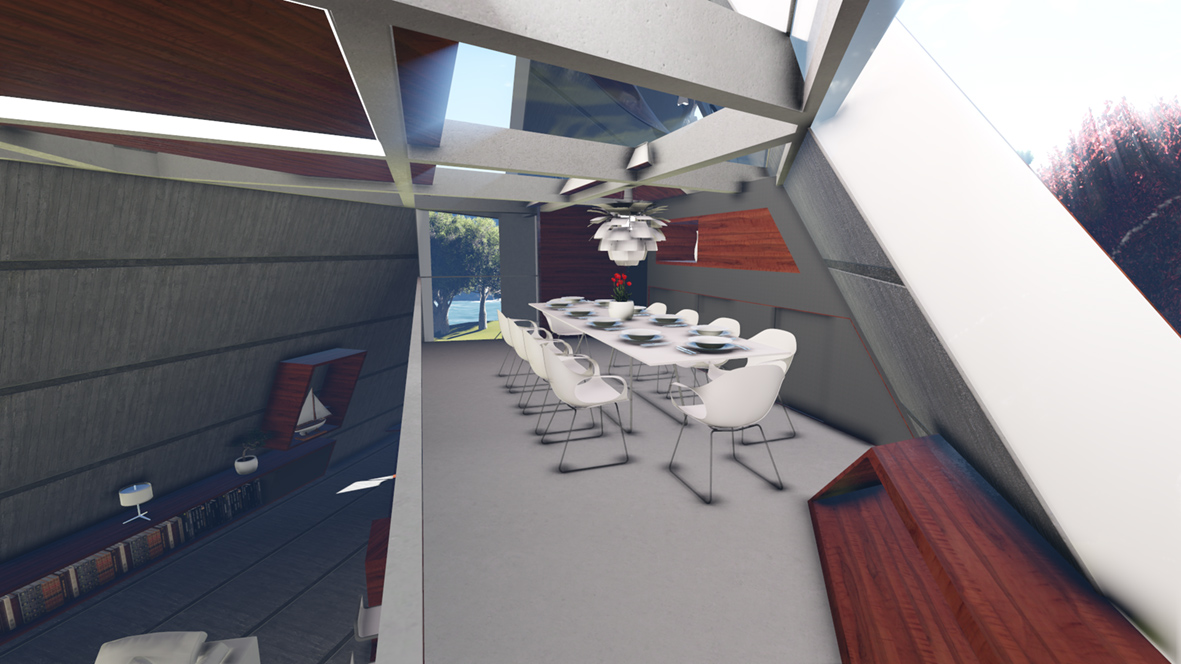 Mobius House_FORMplay Architects_Interior Architecture With Mezzanine Dining Area_Iconic Design_Deconstructivist Style.jpg
