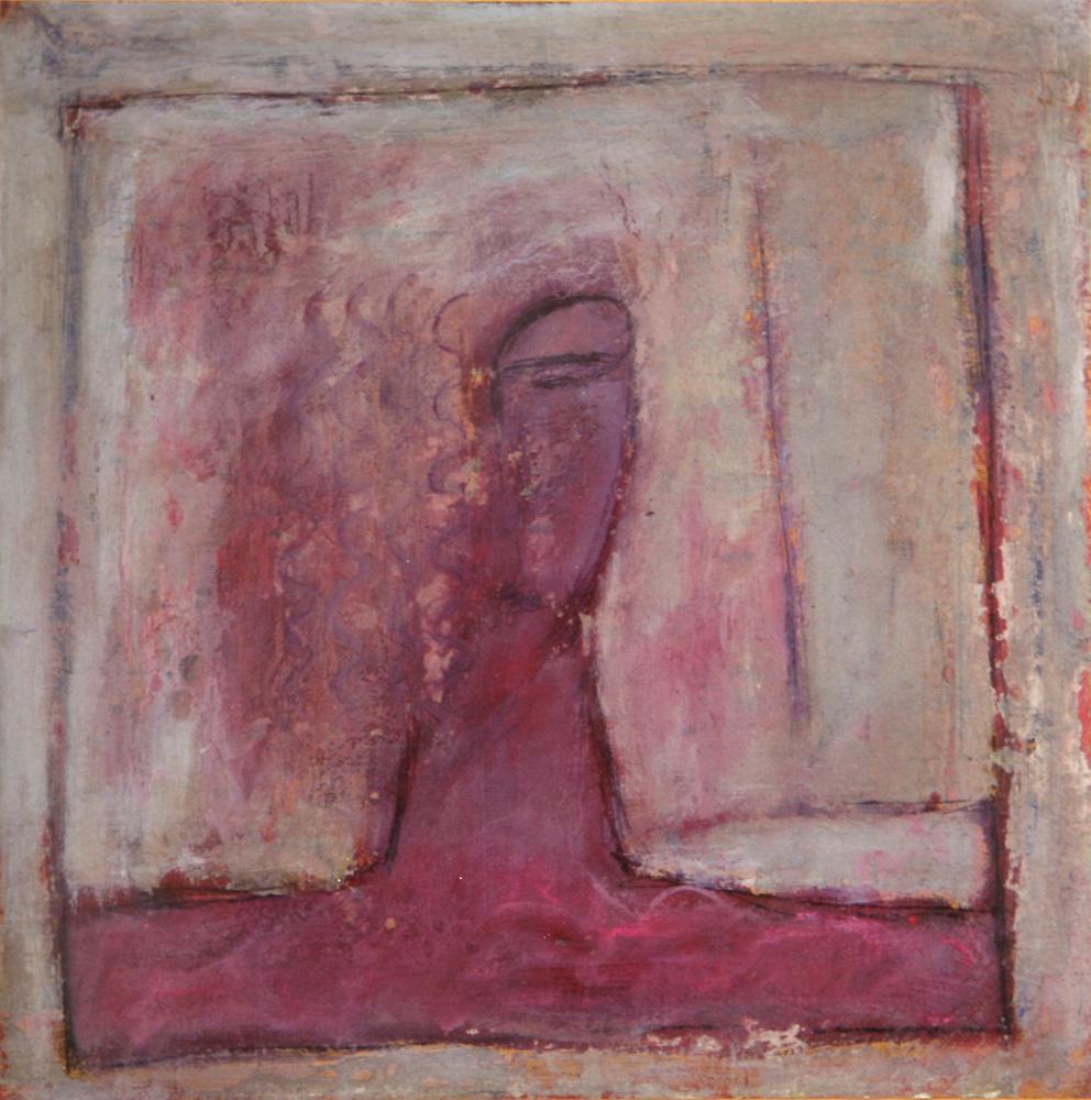 Senza titolo, 1985  Olio su tela
