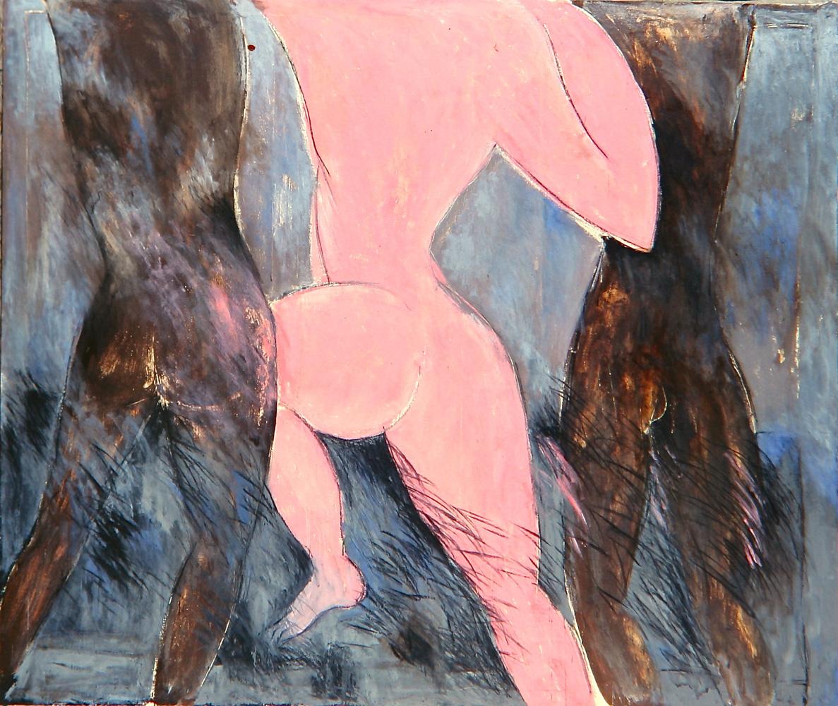 Senza titolo, 1984  Olio su tela  cm 200 x 240
