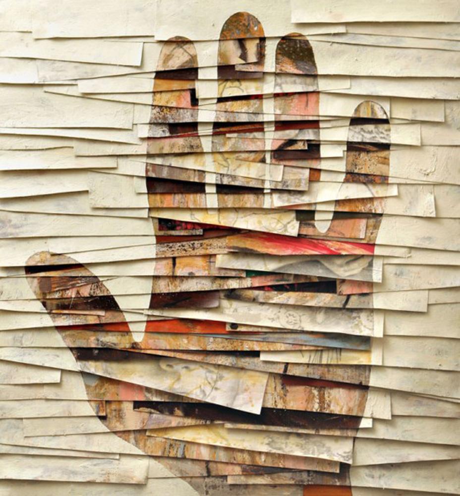 Senza titolo, 2006  Olio, grafite e cera su tela  cm 135 x 125