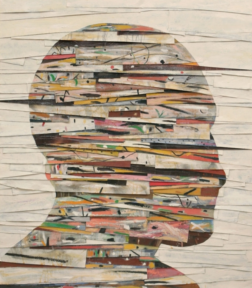Senza titolo, 2007  Olio, grafite e cera su tela  cm 160 x 140