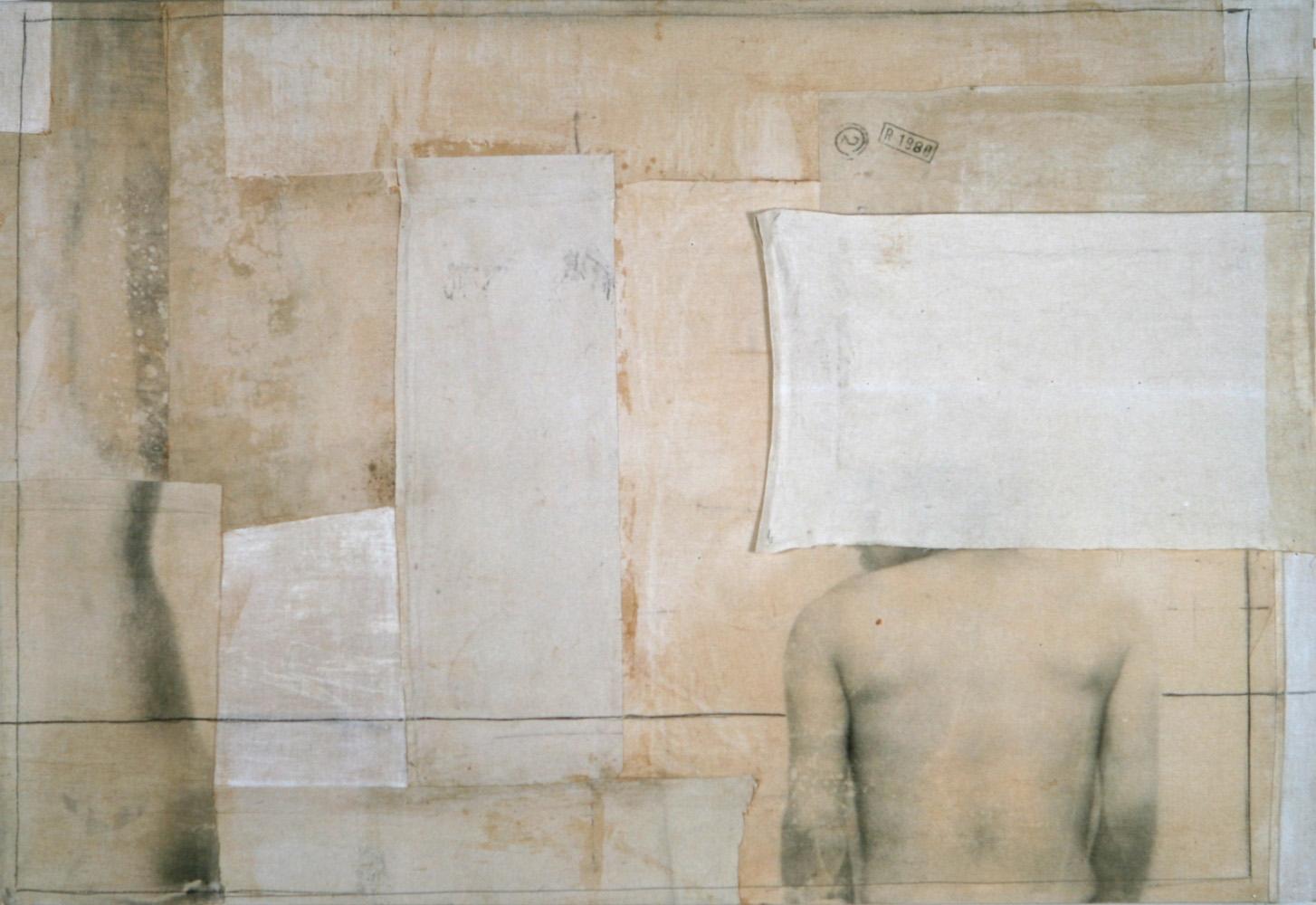 Senza titolo, 1997  Emulsione fotografica su tela montata su legno  cm. 110 x 160