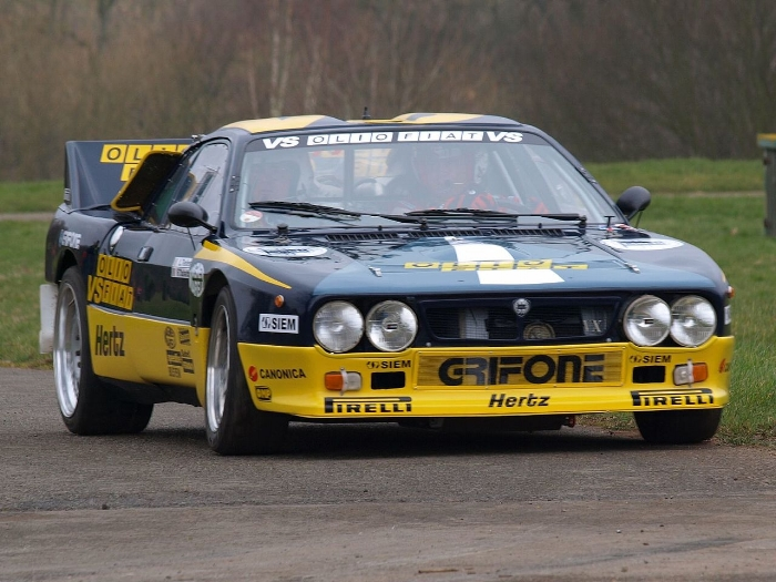 ….Example of a Lancia 037 Group B ..Voorbeeld van een Lancia 037 Groep B ….