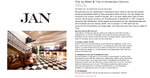 Frans Restaurant - Thijs by Dikker & Thijs - Reviews - JAN Magazine.png