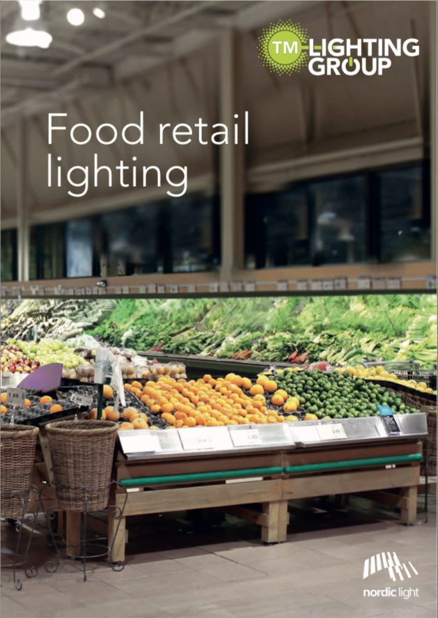 Click above to download our 'Food Retail Lighting' Catalogue -