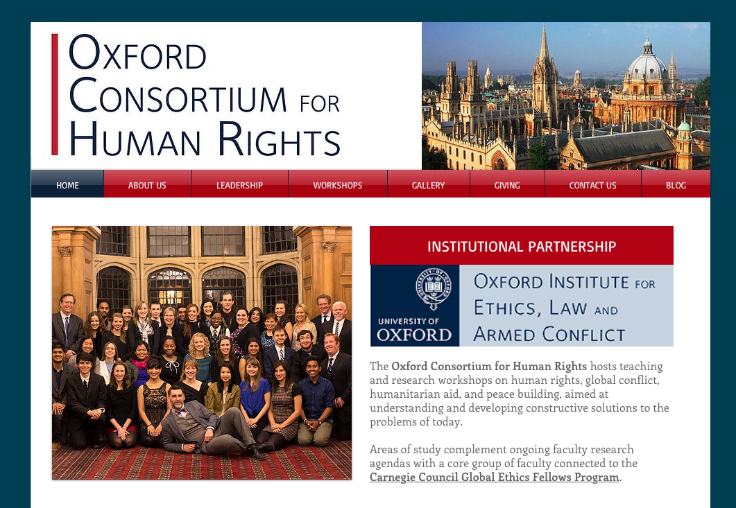 Oxford Consortium for Human Rights