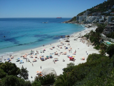 Relax or play in the sun, on the Clifton Beaches.