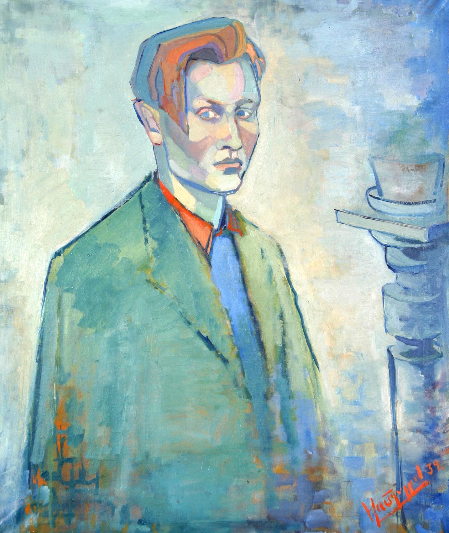 Selvportrett 1939  Olje på lerret